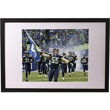 20in. x 30in. Framed NFL Print