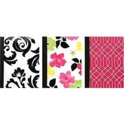 Studio C Fashionista Composition Book, 9 3/4 x 9 3/4, 3/Pack