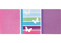 Studio C All A Flutter Composition Book, 9 3/4' x 9 3/4', 3/Pack