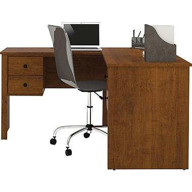 Bestar Corner Computer Desk, Tuscany Brown (45420-1163)