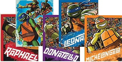 Nickelodeon Teenage Mutant Ninja Turtles 2 Pocket Paper Folder