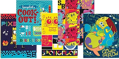 Nickelodeon SpongeBob SquarePants 2 Pocket Paper Folder