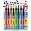 Sharpie® Accent® Retractable Pocket Highlighters, Chisel Tip, Assorted Colors, 8/pk (28101)