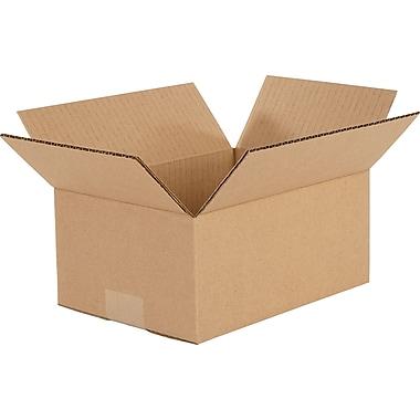 Boîtes en carton ondulé, 9 1/2 po x 7 po x 4 po, 25/lot