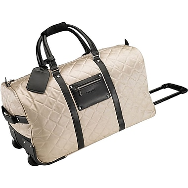 Bugatti Ladies Campinas Polyester Rolling Duffle Bag, Beige