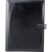 Bugatti Twain Simulated Leather Journal, Black