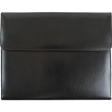 Bugatti Bath Genuine Leather Padfolio, Black