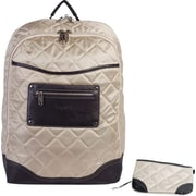 "Bugatti 15"" Polyester Laptop Backpack, Beige"