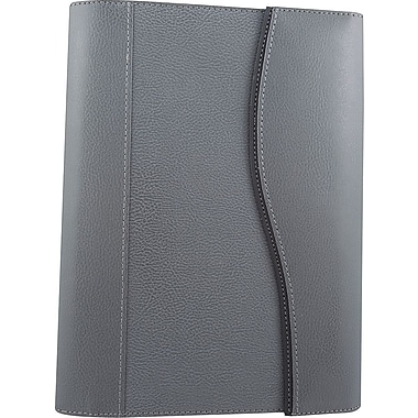 Bugatti Albi Genuine Leather Journal, Grey