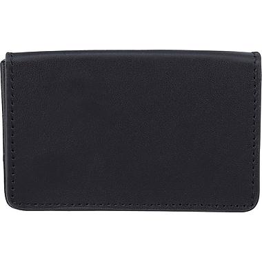 Bugatti Card Squeeze Business Credit Card Holder Black