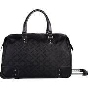 Bugatti Toulon Ladies Rolling Duffle Bag, Black