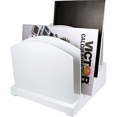 Victor® Wood Desk Accessories, Pure White