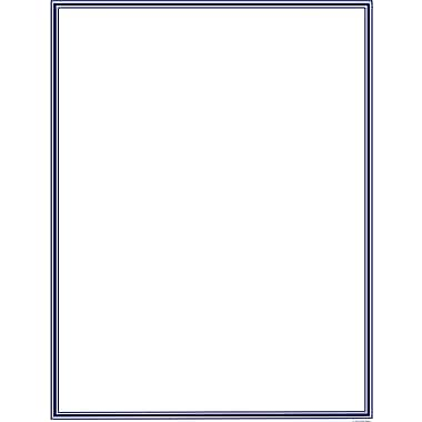 Great Papers® Navy Border Letterhead, 80/Pack