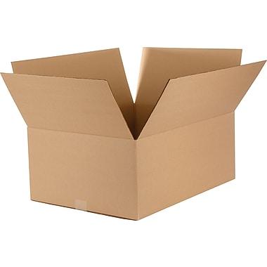 Boîtes en carton ondulé, 24 po x 18 po x 9-3/4 po, 15/lot