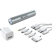 MOTA 2,600 mAh Battery Stick Kit, Silver