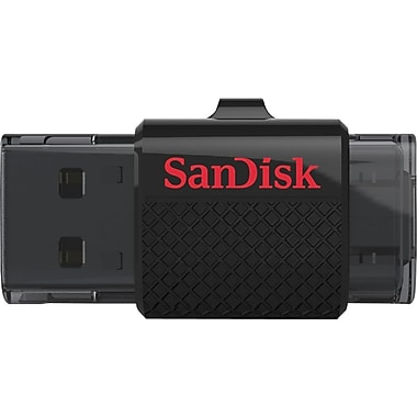 SanDisk Ultra Dual USB 2.0 Flash Drive, 32GB