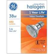 GE PAR20 Halogen Indoor Floodlight, 38 Watt