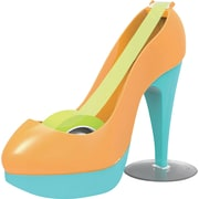 Scotch® Orange and Blue Color Block High Heel Shoe Designer Desktop Dispenser with Scotch® Magic™ Tape