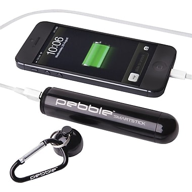 Veho PEBBLE™ VPP-004-PS Smartstick+ Emergency Portable Battery, Black