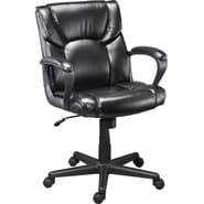 Staples® Montessa II™ Luxura® Managers Chair, Black