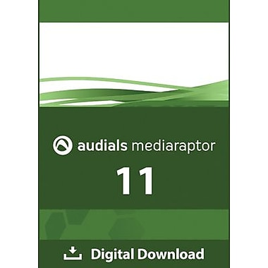 Audials Mediaraptor 11 for Windows (1-3 Users) [Download]