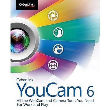 CyberLink YouCam 6 Deluxe for Windows (1 User) [Download]