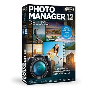 MAGIX Photo Manager 12 Deluxe for Windows (1 User) [Download]