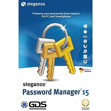 Steganos Password Manager 15 - for Windows (1 User) [Download]