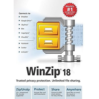 WinZip 18 Standard for Windows (1 User) [Download]