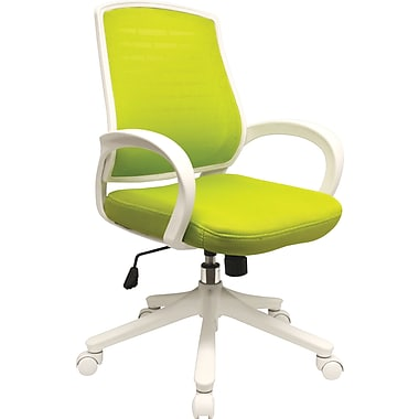 Comfort Products Iona Mesh Chair, Apple Green
