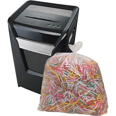 Staples® Shredder Bags, 15.8 Gallons, 16/Box