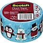 Scotch® Brand Duct Tape, Holiday Friends, 1.88 x