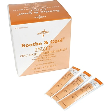 Soothe & Cool INZO Barrier Cream, 8 mL packets