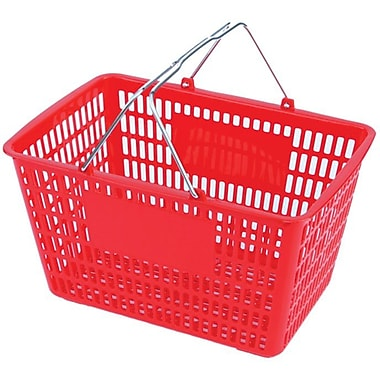 Wire Handle Hand Shopping Basket, 10