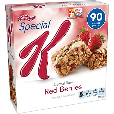 Special K® Red Berries Cereal Bars, 6/BX
