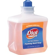 Dial® Complete® Antimicrobial Foaming Hand Wash, 1 Liter Refill, 6/CS