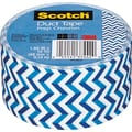 Scotch® Brand Duct Tape, Prep Chevron, 1.88in. x 10 Yards
