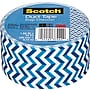 Scotch® Brand Duct Tape, Prep Chevron, 1.88 x