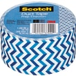 "Scotch® Brand Duct Tape, Prep Chevron, 1.88"" x 10 Yards"