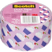 Scotch® Brand Duct Tape, Cupcakes, 1.88 x 10 Yards