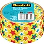Scotch® Brand Duct Tape, Star Struck, 1.88 x