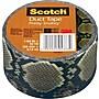 Scotch® Brand Duct Tape, Pretty Snakey, 1.88 x