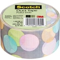 Scotch® Brand Duct Tape, Poka Dots, 1.88in. x 10 Yards