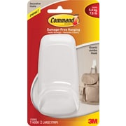 Command™ Jumbo Hook, Quartz