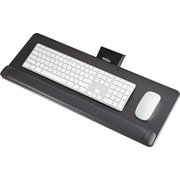 Knob-Adjust Keyboard Platform, 25w x 9-1/2d, Black