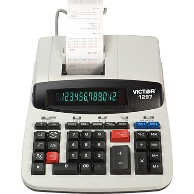 Victor 1297 12 Digit Commercial Printing Calculator