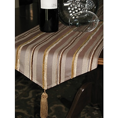 Chéné-Sasseville Oslo Silver Table Runner With 3