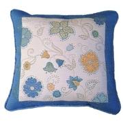 Chéné-Sasseville Dakar Woven Throw Pillow, Inlay Pattern