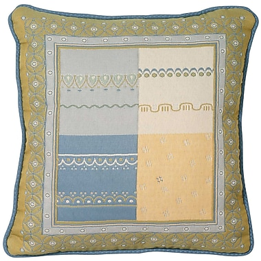 Chéné-Sasseville Safiya Woven Throw Pillow, Inlay Pattern
