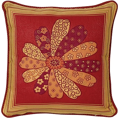 Chéné-Sasseville Kobe Brickwoven Throw Pillow, Inlay Pattern I